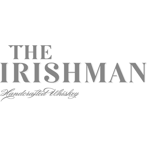 The Irishman Irish Malt Whiskey Transparent Grey Logo