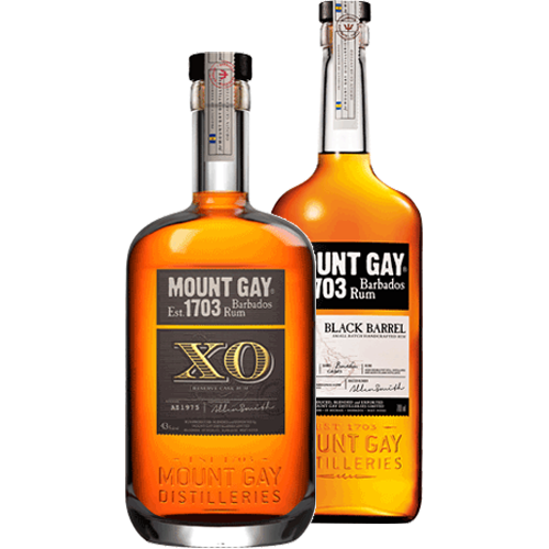 thumbnail of 2 coloured Rum bottles on a transparent background