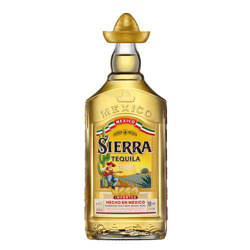 Sierra Tequila Anejo Bottle