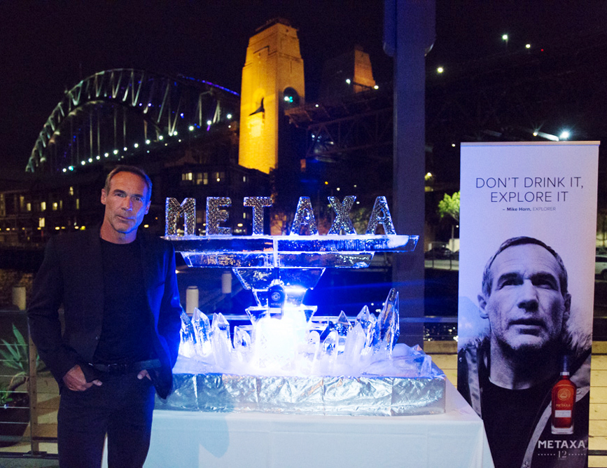 MIke Horn at Metaxa 12 Star Sydney Launch