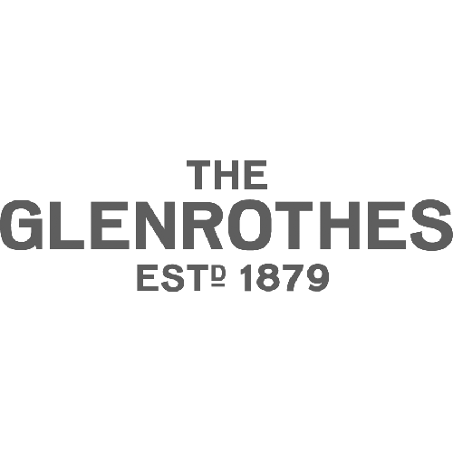 The Glenrothes Single Malt Scotch Whiskey Transparent Grey Logo