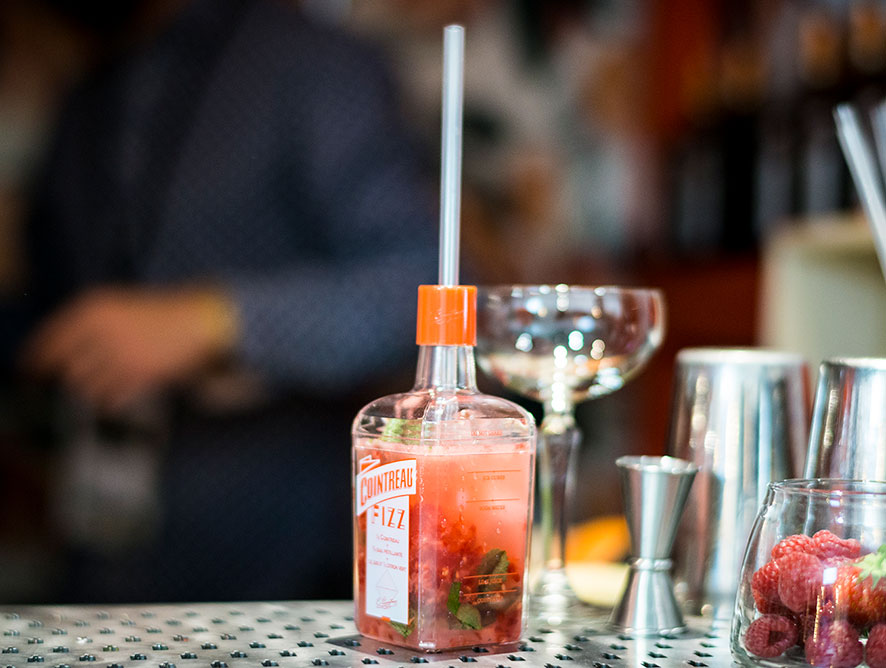 Cointreau Courtyard pop-up bar at So Frenchy So Chic Festival