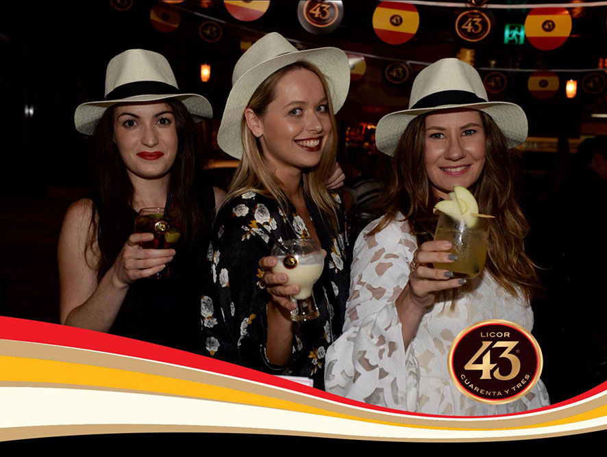 Licor 43 Spanish Fiestas people